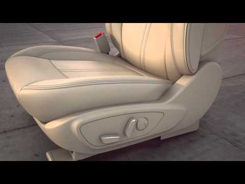 Power Seats and Lumbar Controls | Lincoln How-to Video