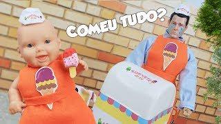 Gambar cover MEGIE DÁ O MAIOR PREJUÍZO AO TIO DO PICOLÉ ! - Lilly Doll