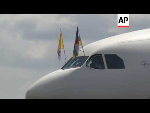 Pope leaves Central African Republic