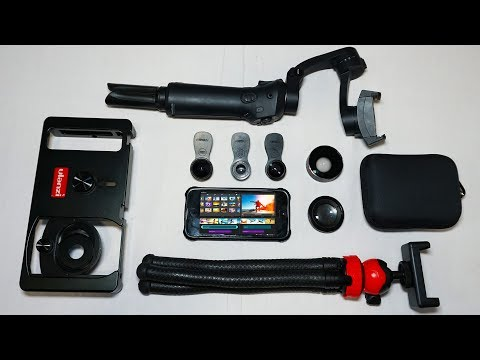 Mobile Videography Starter Kit | Filmmaking Accessories For Smartphone
