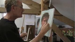 Portretschilderen met Ben Lustenhouwer bij Table-Tableau