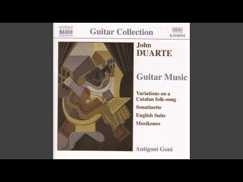 Suite piemontese, Op. 46: II. Canzone