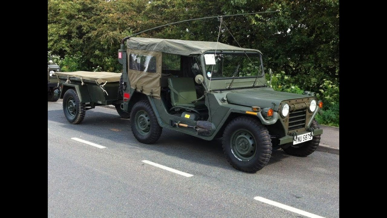 Am General M151a2 Restoration Project Youtube