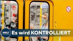 CORONA-MAßNAHMEN IN BERLIN: Bürgermeister Müller verteidigt Bußgelder für Maskenmuffel