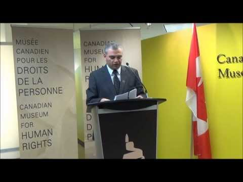 CMHR and Armenian Genocide Museum Institute Sign Memorandum of Understanding