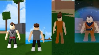How to have black goku and goku clothes in roblox