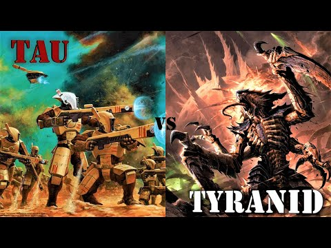 Dawn Of War | Ultimate Apocalypse Mod: Final Battle Between The Tau And Tyranid Swarm (I Promise)