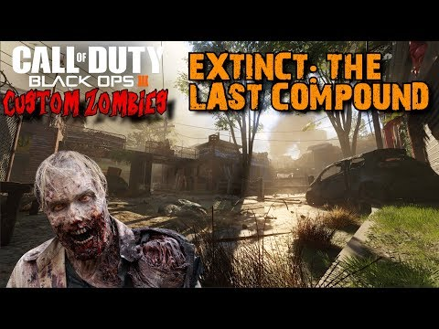 AMAZING FALLOUT 4 ZOMBIES - EXTINCT: THE LAST COMPOUND! (BO3 CUSTOM ZOMBIES)