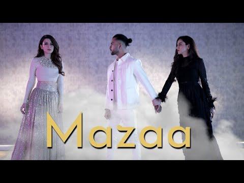 MAZAA | Tejas & Ishpreet Ft. Hansika Motwani | B Praak,Jaani,Gurmeet | Dancefit Live