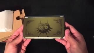 Unboxing Legend Of Zelda Majora's Mask Special Edition Nintendo 3ds Xl