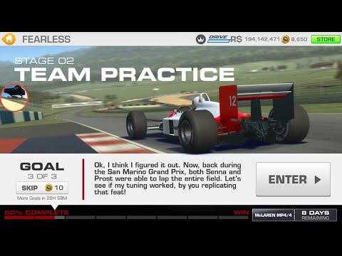 RR3, Fearless, McLaren MP4/4, Stage 2.3 No Upgrades
