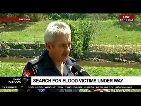 Search for flood victims underway