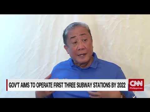 Construction of Metro Manila subway begins