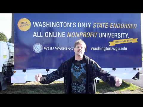 Troy Dowdle, Springdale, Washington - WGU Washington Billboard Video Contest