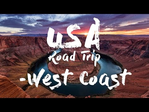 USA Road Trip 2016 - West Coast (Phantom 3 Proffesional) [4K]