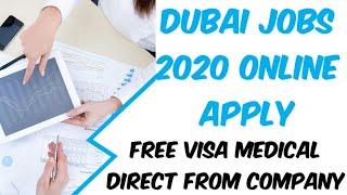 Dubai jobs 2020 Online Apply | Dubai jobs for freshers Online Apply | Uae jobs for Pakistani 2020