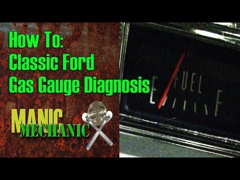 How To Classic Car Ford Fuel Gauge diagnosis Episode 8 Manic Mechanic -  YouTubeYouTube