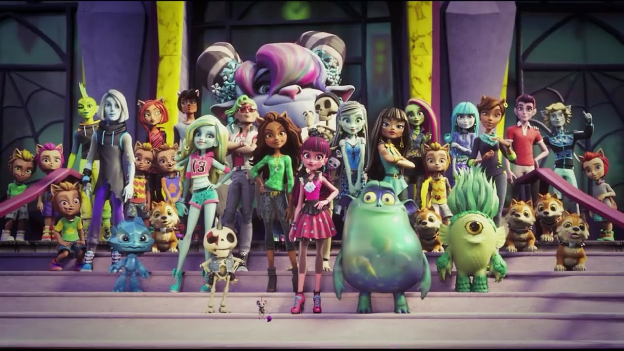 Monster high welcome to monster high the origin history - Monster high image ...
