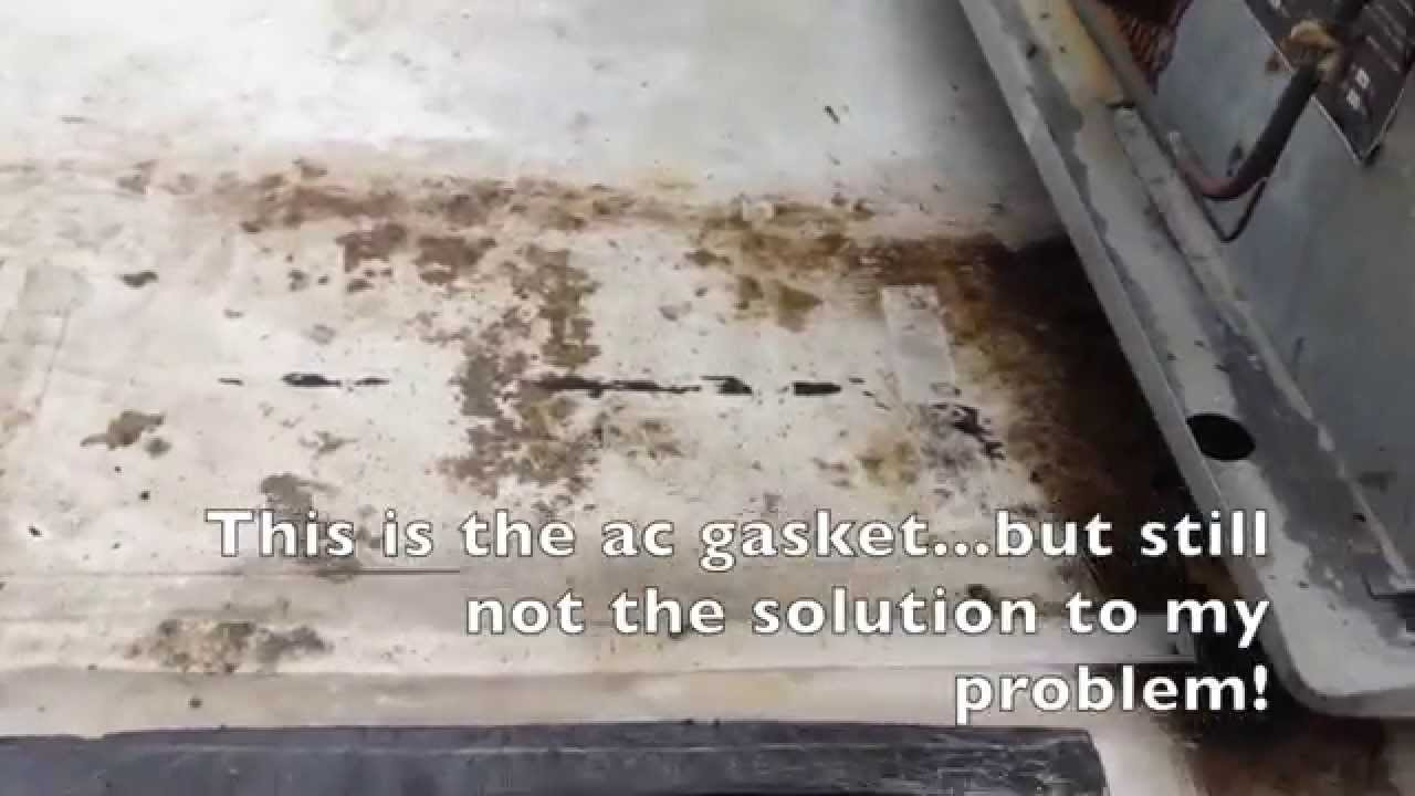 Rv Ac Leak Troubleshooting Youtube