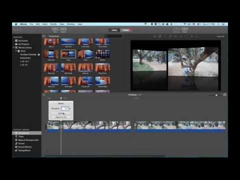 iMovie Tutorial 2015