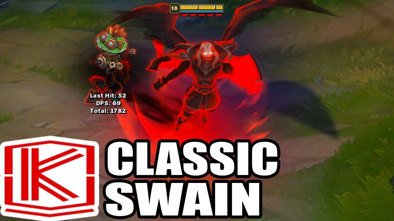 Classic Swain Rework Skin Spotlight League Of Legends Youtube