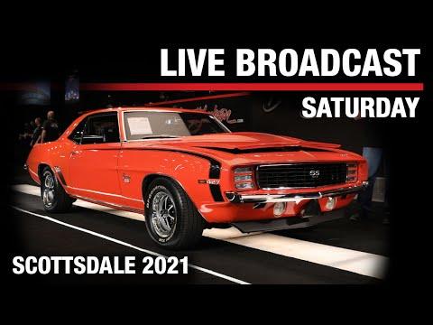 2021 SCOTTSDALE AUCTION BROADCAST - Super Saturday, March 27, 2021 - BARRETT-JACKSON