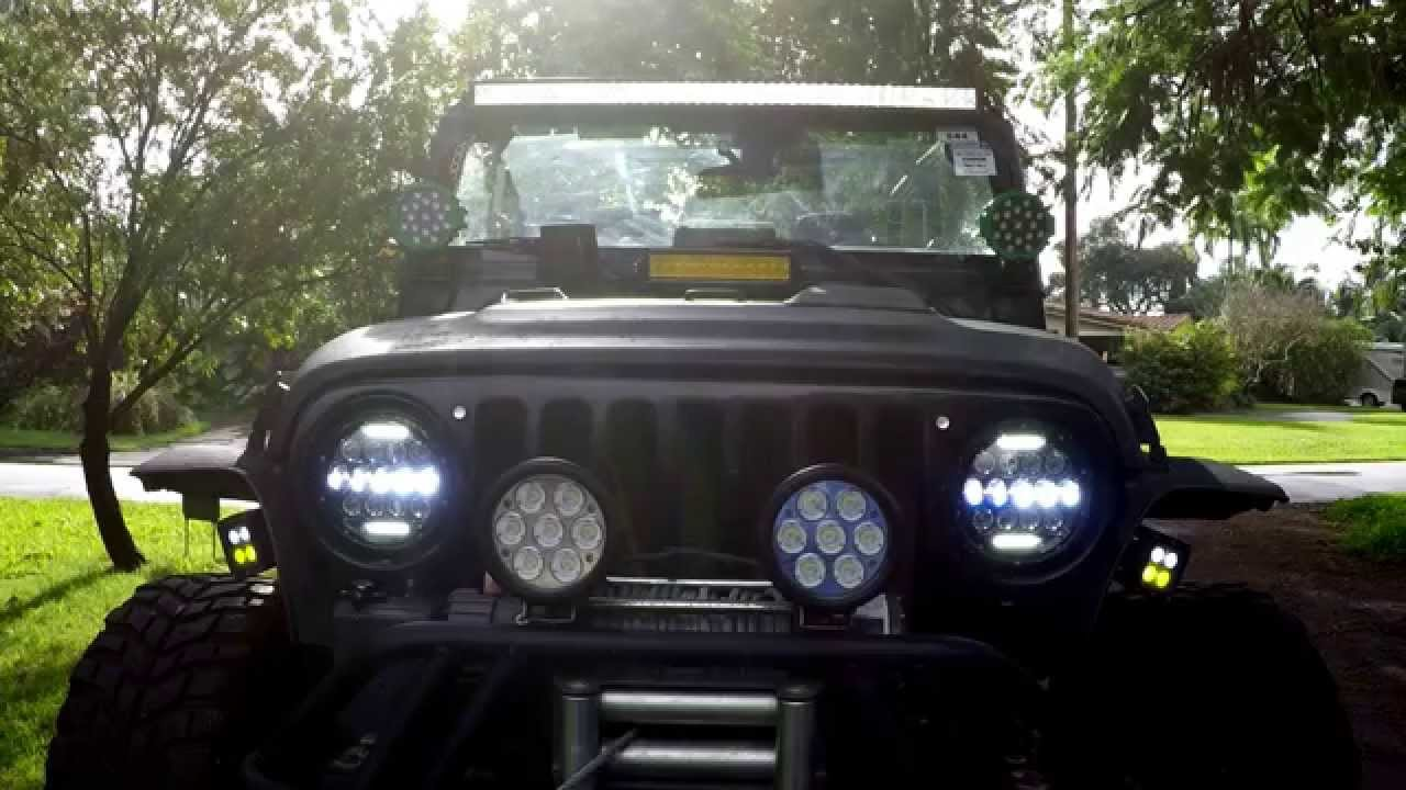 Nightsun4x4 Led Headlights Youtube