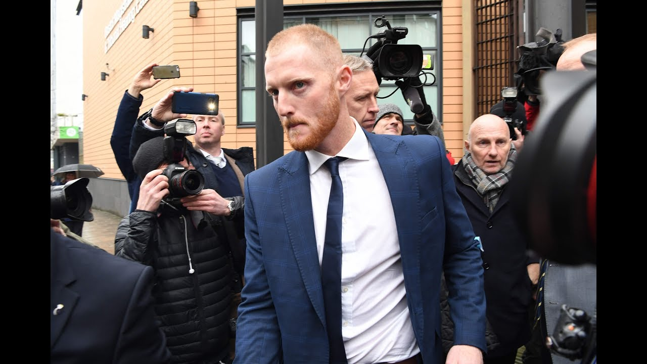 Ben Stokes appears before Magistrates' Court to answer charges of affray