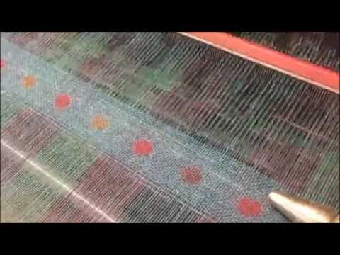 Weaving at Foxford Woollen Mills