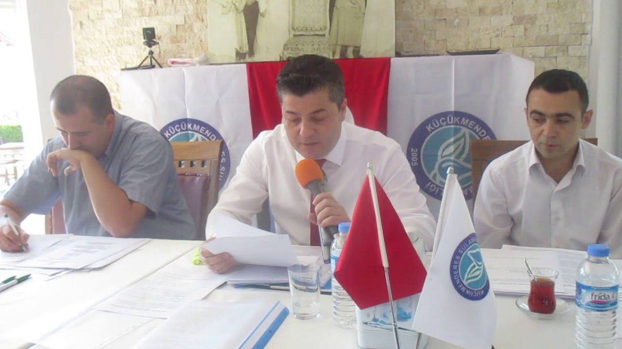 Küçük Menderes Sulama Birliği'nde son genel kurul toplantısı