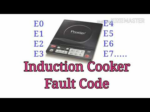Induction Cooker Fault Code