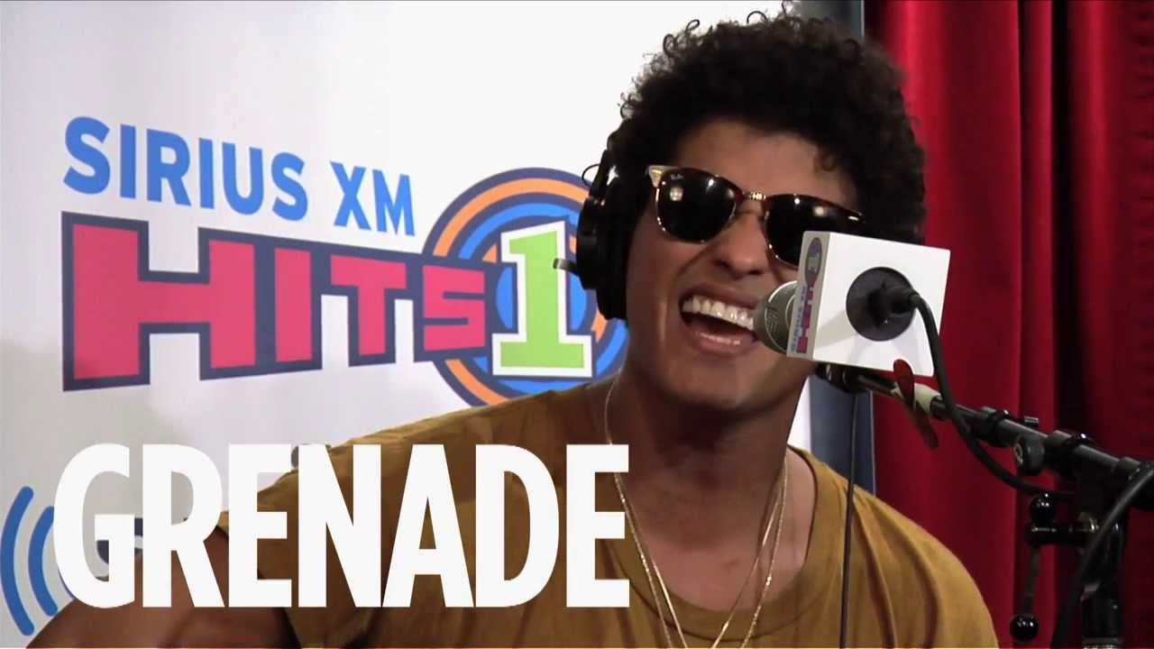 bruno mars grenade live siriusxm hits 1 youtube. Black Bedroom Furniture Sets. Home Design Ideas