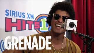 "Bruno Mars ""Grenade"" Live @ SiriusXM // Hits 1"