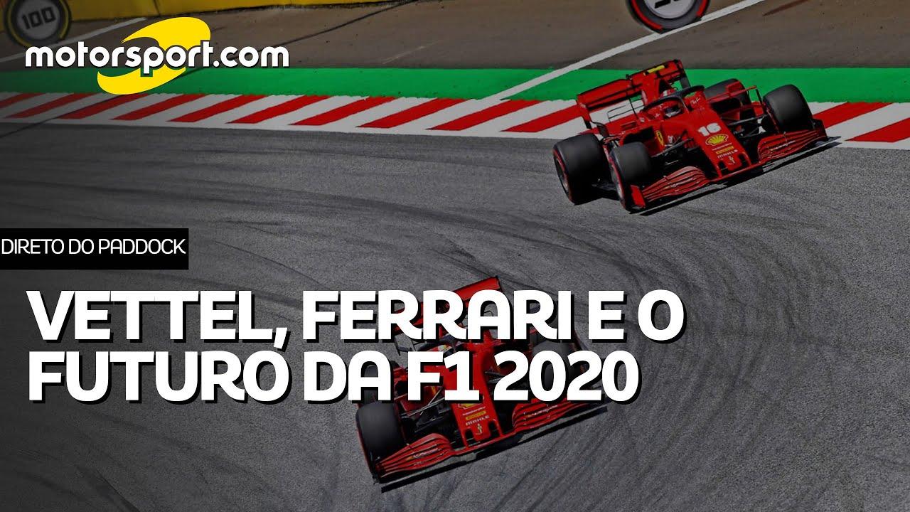DIRETO DO PADDOCK: Novidades da Ferrari, negociações de Vettel e expectativa para o calendário 2020
