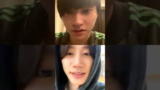 [20200407] skyhidaka with Lee Junyoung insta live 2 ukiss_ju…