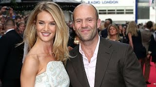 Jason statham and his wife rosie huntington whiteley