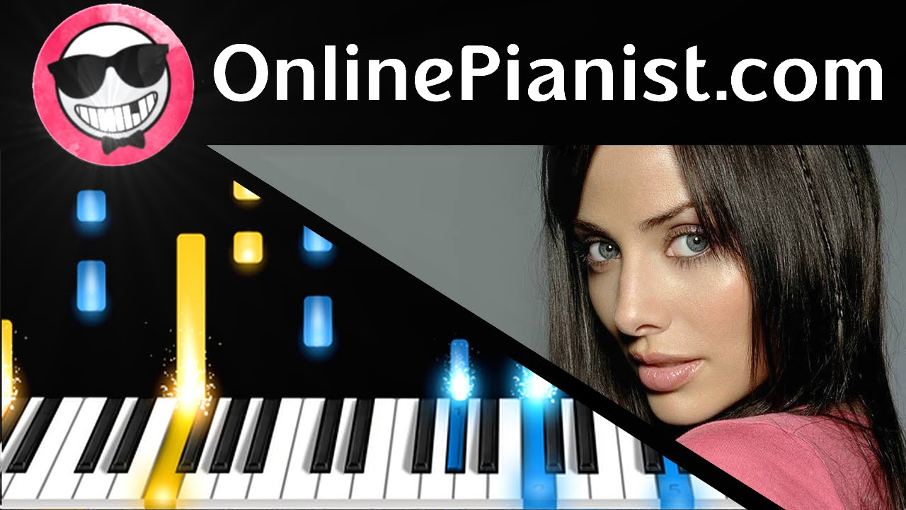 Natalie Imbruglia Torn Piano Tutorial Sheets How To Play