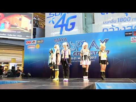 170521 [MMD] 気まぐれメルシィ / Kimagure Mercy cover dance by วานซืน @Maya cosplay contest chiangmai