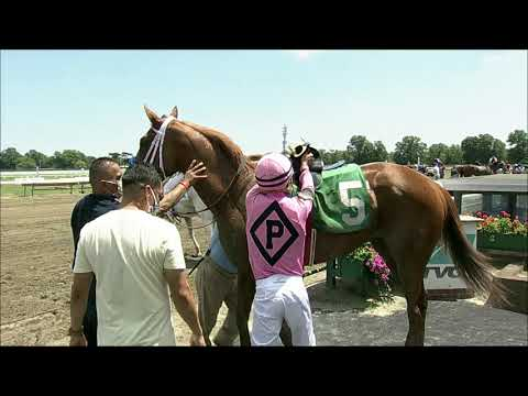 video thumbnail for MONMOUTH PARK 07-25-20 RACE 2