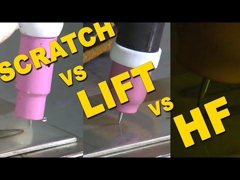 🔥 Scratch Start VS. Lift Start VS. High Frequency Start   TIG Time