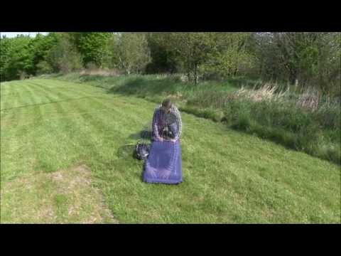 How to roll up a self inflating mat | Innovative Family Camping