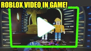 Roblox Just RELEASED IN GAME VIDEO...