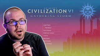 I'm just going to play Civilization VI for like 2 hours