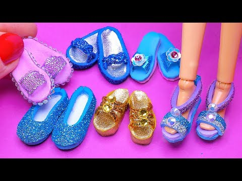 6 DIY Barbie Shoes and Sandals