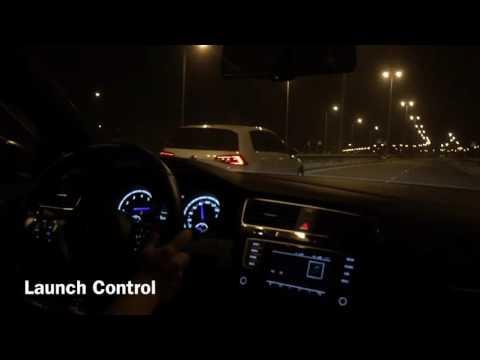 Launch Control: MK7 Golf R (stock) Vs MK7 Golf R (stage 2)