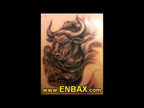 3b6103d24ed52 Tattoos of Zodiac Signs, Syombols, Leo, Cancer, Virgo, Taurus - YouTube