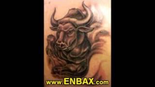 Tattoos of Zodiac Signs, Syombols, Leo, Cancer, Virgo, Taurus