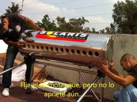 Calentador Solar Guadalajara, Instalacion PIESA