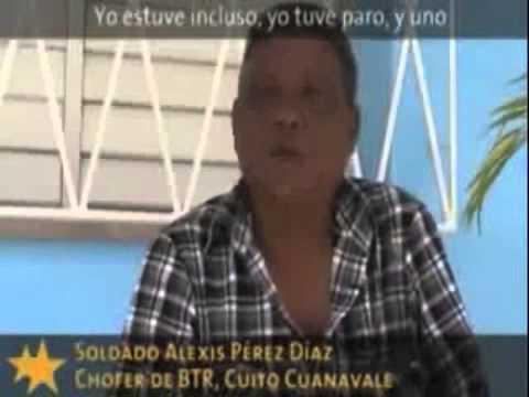 Pancho Calama denuncia  -vídeo-  Huellas de Batalla de Cuito Cuanavale