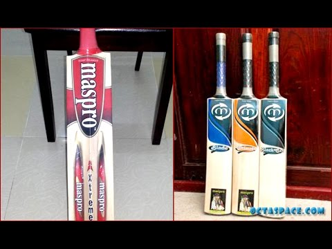 a3569e31ab3 Maspro High Quality Cricket Bat Review - YouTube